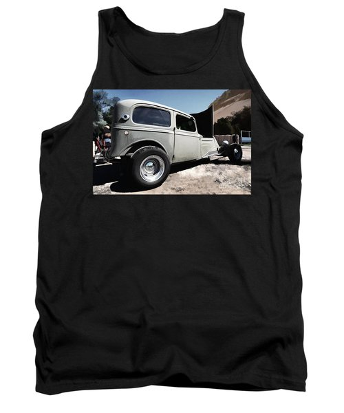 Tank Top featuring the photograph Greaserama 2011 by Liane Wright