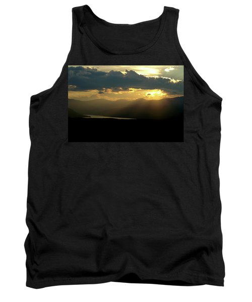 Tank Top featuring the photograph Great Divide Light by Jeremy Rhoades