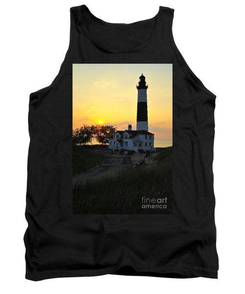 Great Lakes Lighthouse Big Sable Point Tank Top