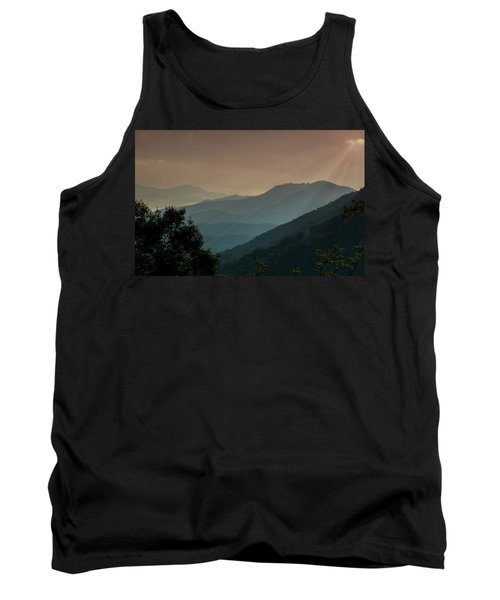 Great Smoky Mountains Blue Ridge Parkway Tank Top by Patti Deters