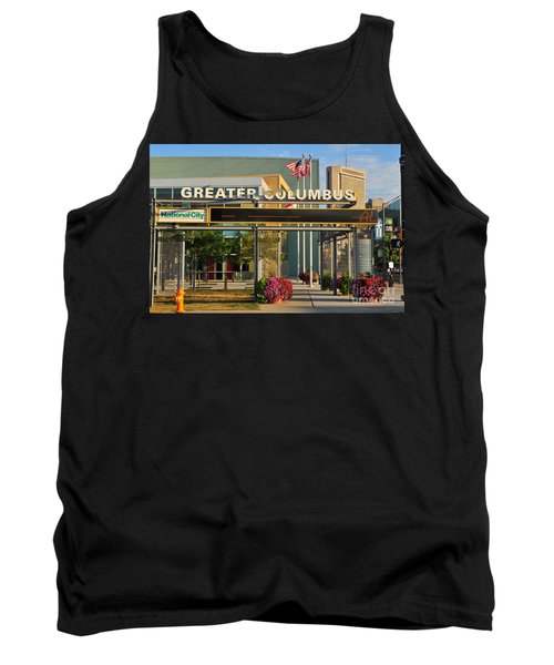 D8l-245 Greater Columbus Convention Center Photo Tank Top