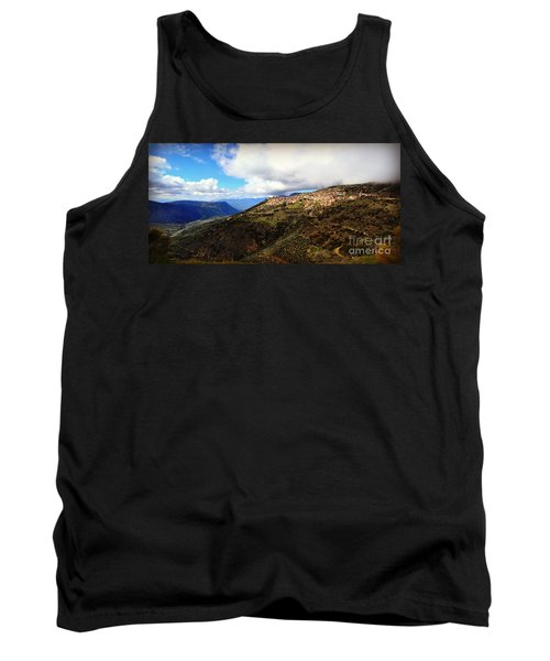 Greece Countryside Tank Top by Eric Liller