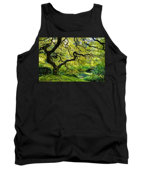 Tank Top featuring the photograph Green by Dustin  LeFevre