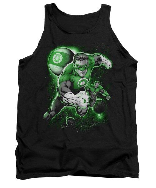Green Lantern - Lantern Planet Tank Top