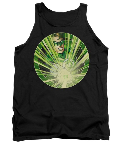 Green Lantern - Light Em Up Tank Top