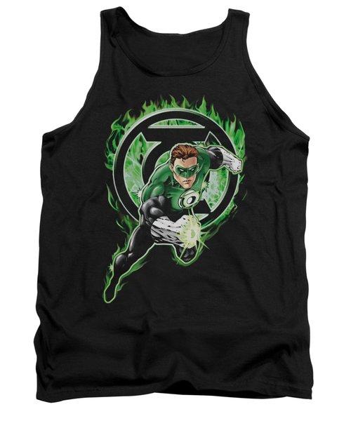 Green Lantern - Space Cop Tank Top