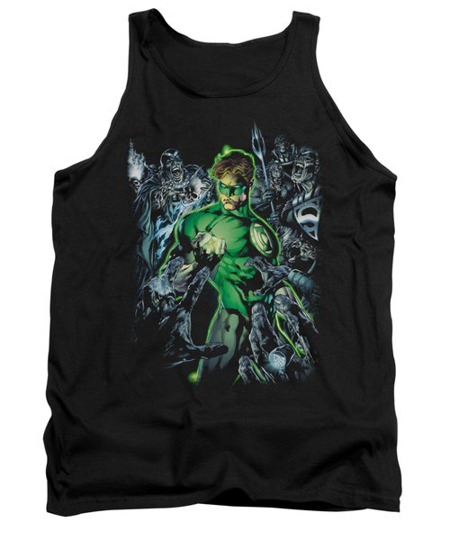 Green Lantern - Surrounded By Death Tank Top