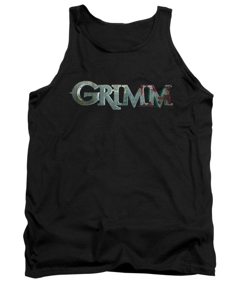 Grimm - Bloody Logo Tank Top