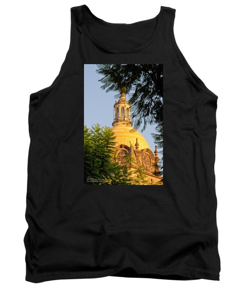 Tank Top featuring the photograph The Grand Cathedral Of Guadalajara, Mexico - By Travel Photographer David Perry Lawrence by David Perry Lawrence