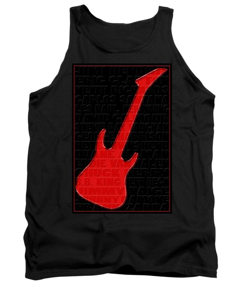 Guitar Players 1 Tank Top