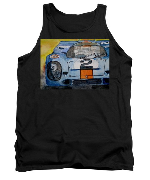 Gulf Porsche Tank Top