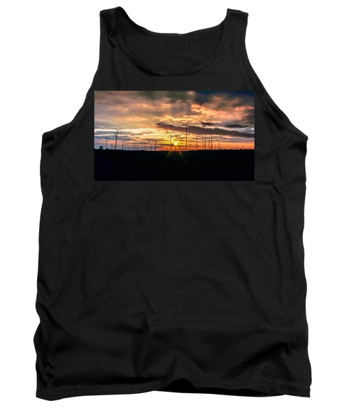 Gulf Shore Sunset Tank Top by Rob Sellers