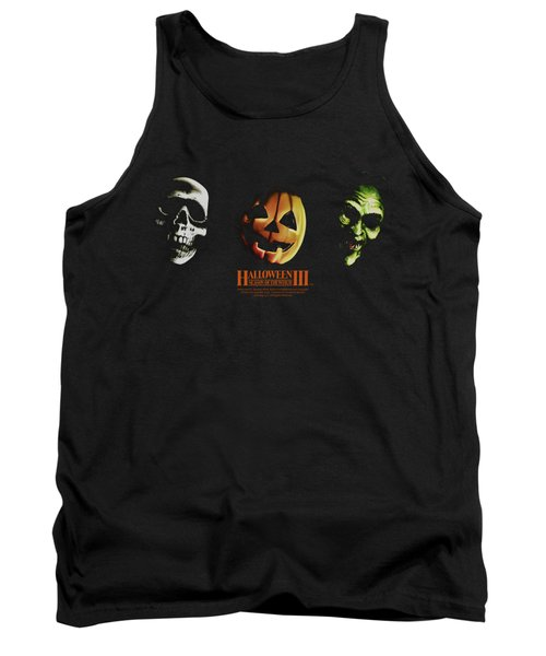 Halloween IIi - Three Masks Tank Top