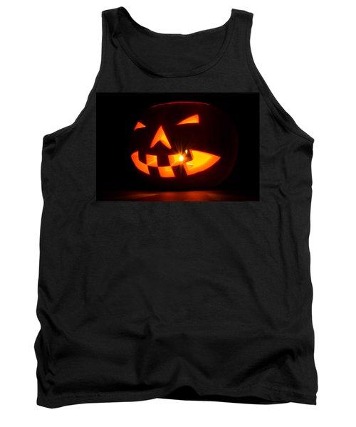Halloween - Smiling Jack O' Lantern Tank Top