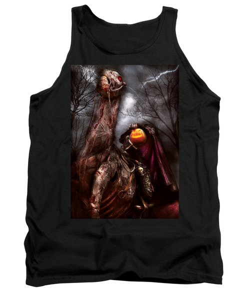 Halloween - The Headless Horseman Tank Top