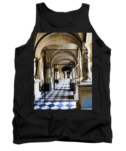 Halls Of Versailles Paris Tank Top