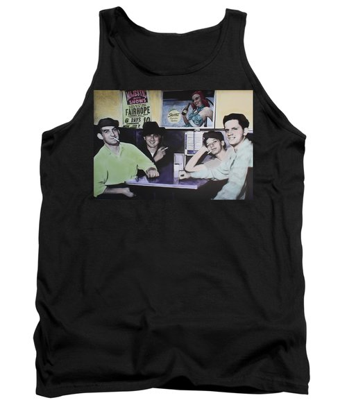Hanging At The Diner 1949 Tank Top