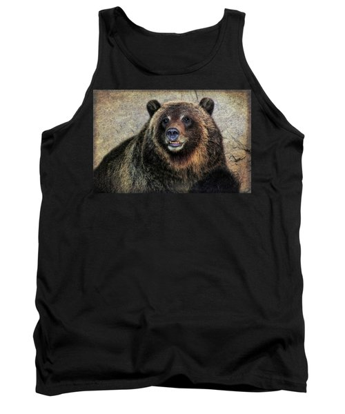 Happy Grizzly Bear Tank Top