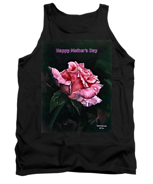Tank Top featuring the painting Happy Mother's Day by Lynne Wright