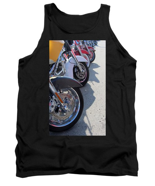 Harley Line Up 1 Tank Top