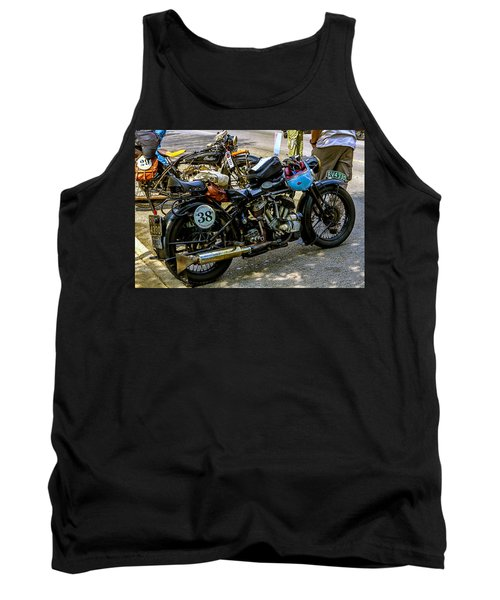 Harleys And Indians Tank Top