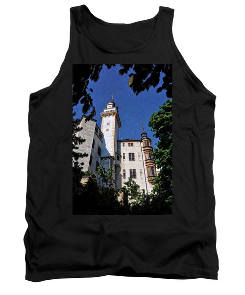 Tank Top featuring the photograph Hartenfels Castle - Torgau Germany by Mark Madere