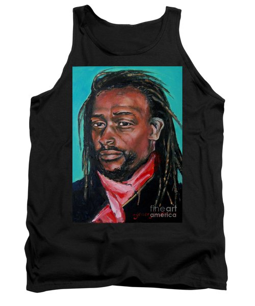 Hat Man - Portrait Tank Top
