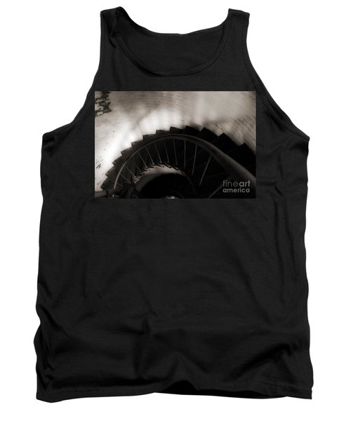 Tank Top featuring the photograph Hatteras Staircase by Angela DeFrias