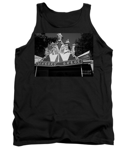 Tank Top featuring the photograph Haunted House by Michael Krek