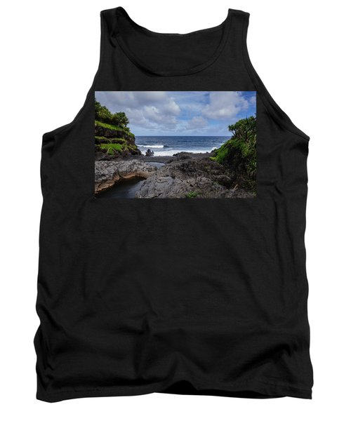 Hawaiian Surf Tank Top
