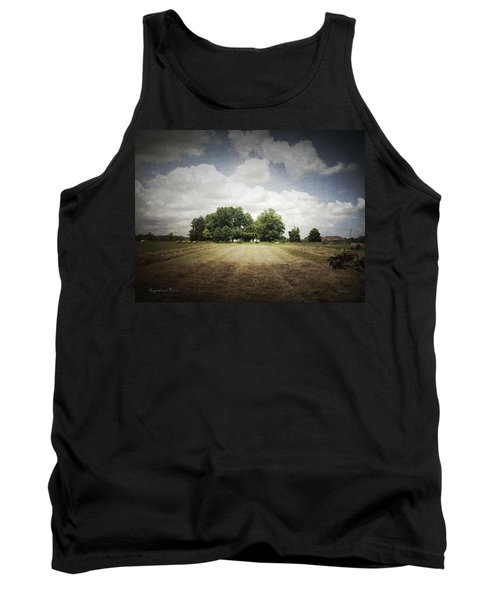 Haying At Angustown Tank Top