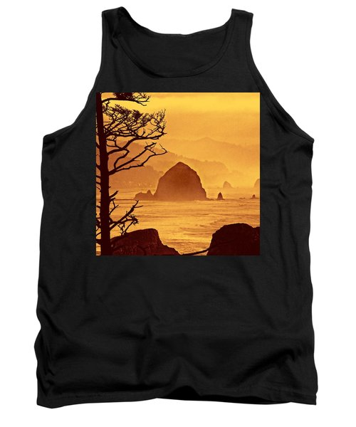 Tank Top featuring the photograph Haystack Burnt Sienna by Wendy McKennon