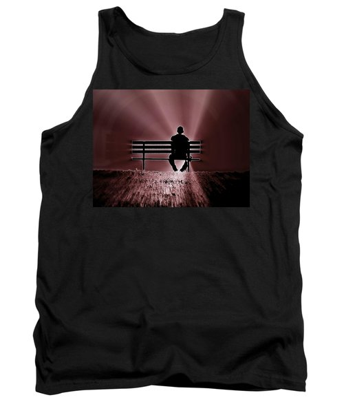He Spoke Light Into The Darkness Tank Top