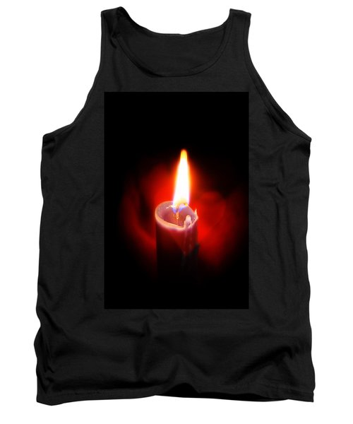Heart Aflame Tank Top by Sennie Pierson