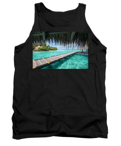 Heavenly View Tank Top by Hannes Cmarits