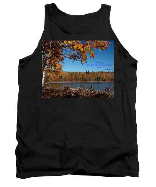 Hebrews 3 4 Tank Top