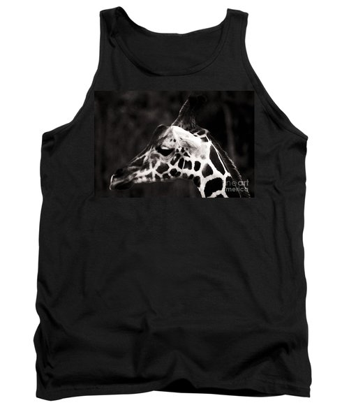 Tank Top featuring the photograph Hello Up There by Doc Braham