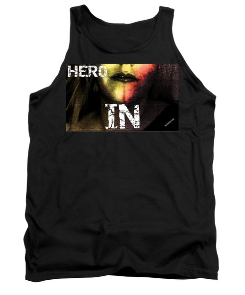 Tank Top featuring the photograph Hero In Part One by Sir Josef - Social Critic - ART