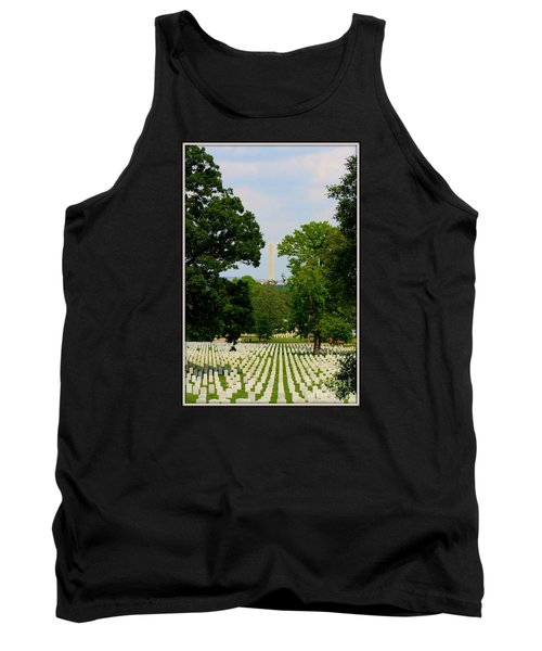 Heroes And A Monument Tank Top by Patti Whitten