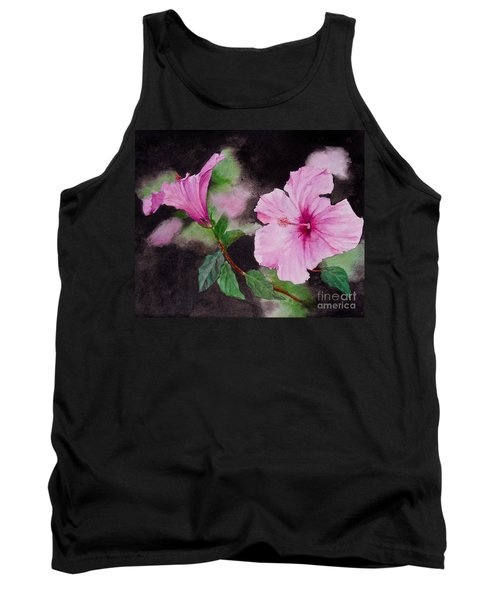Hibiscus - So Pretty In Pink Tank Top