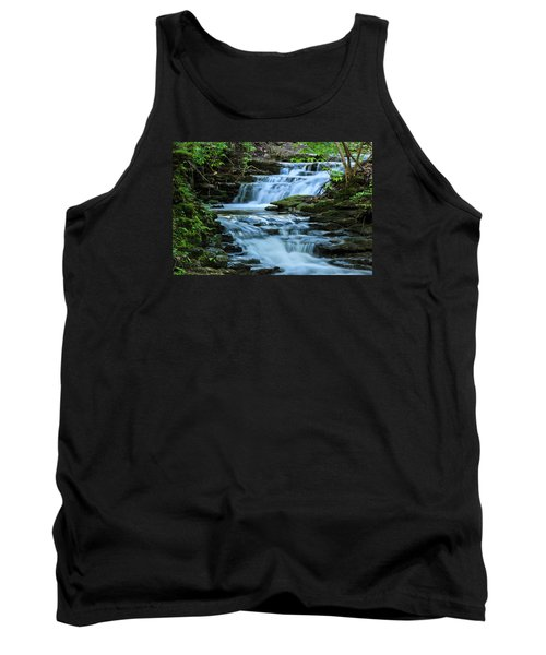 Tank Top featuring the photograph Hidden Falls by Julie Andel