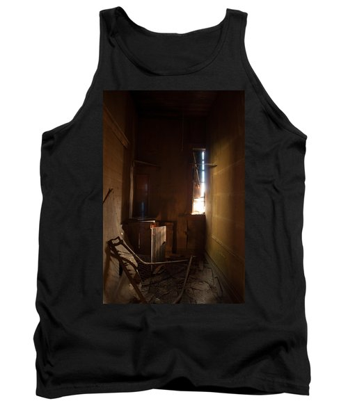 Tank Top featuring the photograph Hidden In Shadow by Fran Riley