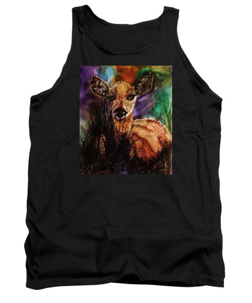 Hiding In The Shadows Tank Top by Lil Taylor