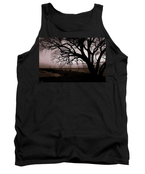 Tank Top featuring the photograph High Cliff Beauty by Lauren Radke