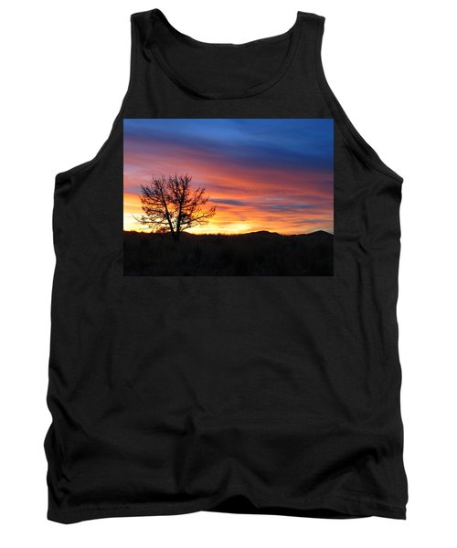 Tank Top featuring the photograph High Desert Sunset by Kevin Desrosiers