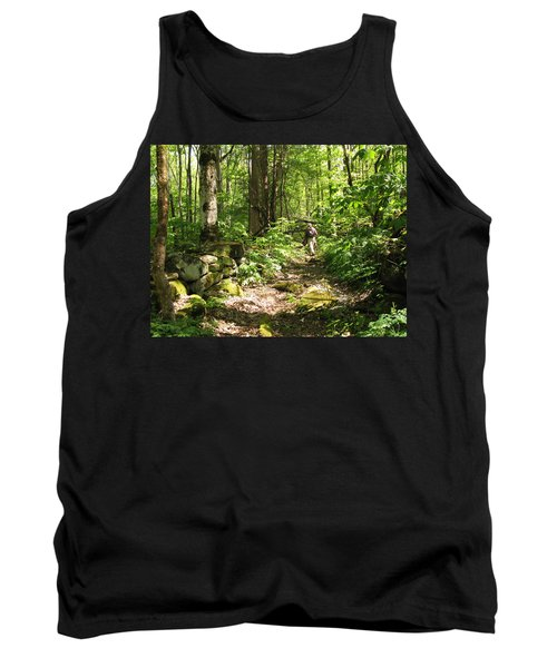 Hiking Off Trail Tank Top by Melinda Fawver