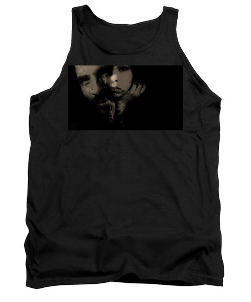 Tank Top featuring the photograph His Amusement Her Content  by Jessica Shelton