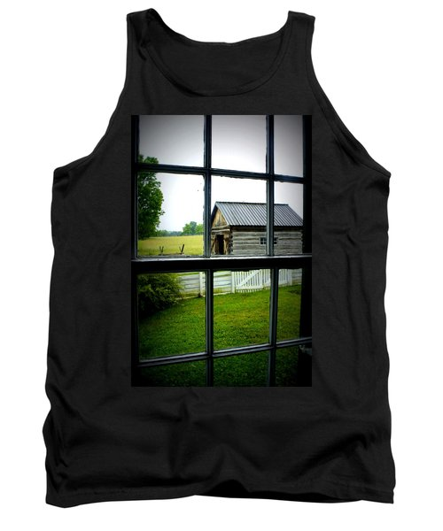 Tank Top featuring the photograph Historic New Market by Laurie Perry