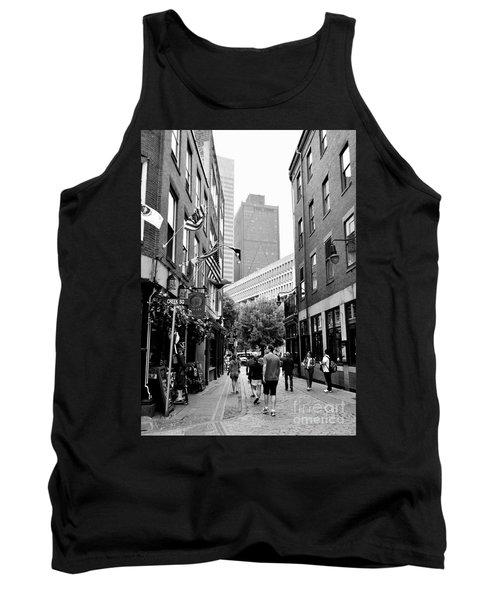 Historic Union Street Boston Ma Tank Top