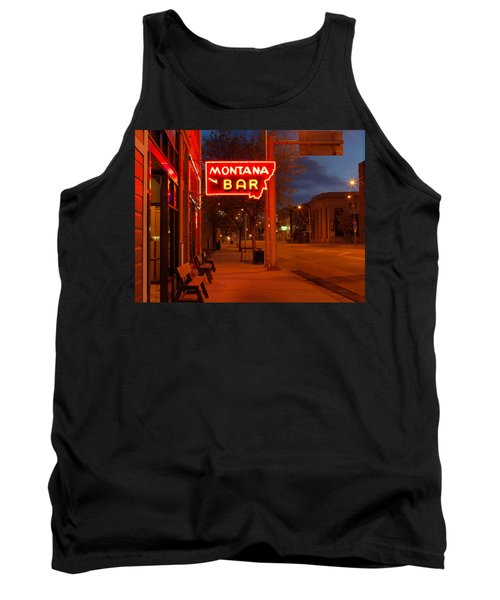 Historical Montana Bar Tank Top